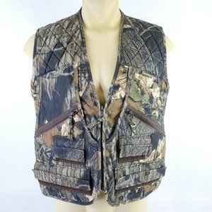 Gamehide Mens Chukkar Hunting Camo Quilted Vest
